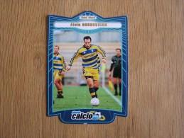 CALCIO 2000 GOLD STARS Alain Boghossian Trading Cards Football Italia Italie Carte Collection - Trading Cards