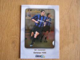 CALCIO 2000 Top Champions Christian Vieri Trading Cards Football Italia Italie Carte Collection - Trading Cards