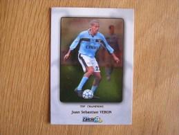 CALCIO 2000 Top Champions Juan Sebastian Veron Trading Cards Football Italia Italie Carte Collection - Trading Cards