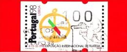 Portogallo - 1997 - Esposizione Di Filatelia - Portugal '98 - 100 - Usati