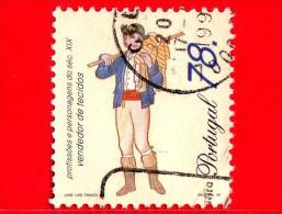 Portogallo - 1996 - Professioni Del 19° Secolo - Venditore Di Tessuti - 78 - Usati