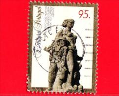 Portogallo - 1995 - Scultura - Monumento Ai Caduti Della Grande Guerra - 95 - Usati