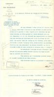 """Brief  """"Compagnie Du Jura Neuchatelois""""             1905 - Chemin De Fer & Tramway"""