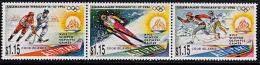 B5155 AITUTAKI 1994, SG 658-660  Winter Olympic Games, Lillehammer  MNH - Aitutaki