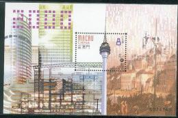 Bloc De China Chine : (33) 2002 Macau Macao - Une Nouvelle ère  SG MS1149** - Andere