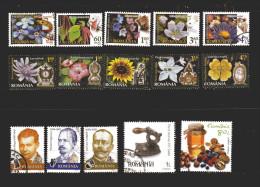 Romania -X- ° 2012-13 -  Lotto Misto . 15  Valori. - 1948-.... Repubbliche