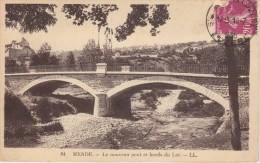 CPA - MENDE (48) - Le Nouveau Pont Au Bord Du Lot - 1936 - Mende