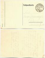 AK Cottbus 1918, Sauberer Stempel Auf Feldpost - Karte Nach Bernburg, 1. Weltkrieg - Germany