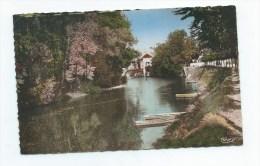 Chatellerault (86): Le Chemin Sur Les Bords De La Vienne En 1956 (animé)  PF. - Chatellerault