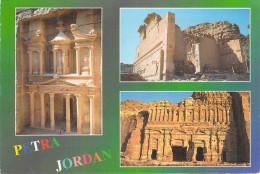 Asie > Jordanie PETRA JORDAN Multi Vues  -timbre Stamp H.K Of JORDAN *PRIX FIXE - Jordanie