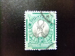 UNION SUD AFRICANA - UNION OF SOUTH AFRICA - 1926 Yvert & Tellier Nº 19 º FU Antilope - South Africa (...-1961)