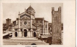 LONIGO-DUOMO-27-10-1937-REGNO CENT.30 BIMILLENARIO AUGUSTEO-EDIZ.LUCENTI - Vicenza
