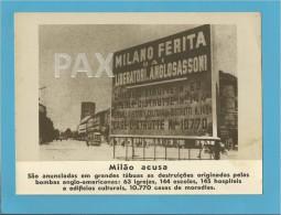 WWII ORIGINAL NAZI PROPAGANDA ( Portugal ) - See Description & Scans - Oorlog 1939-45