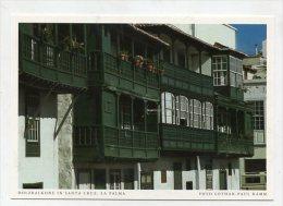 SPAIN  - AK 193107 La Palma - Holzbalkone In Santa Cruz - La Palma