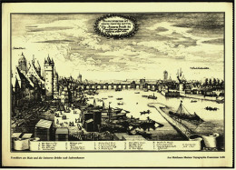Stich Nachdruck  -  Frankfurt Am Main 1648 -  Aus Matthaeus Merians Topographia Franconiae - Estampes & Gravures