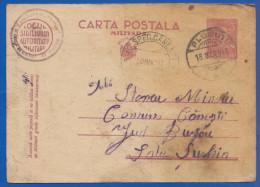 Rumänien; Carte Postala Militara 3 Lei; 1943 - Enteros Postales