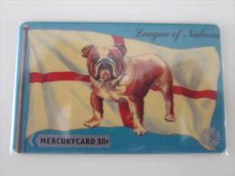 GPT Magnetic Phonecard,League Of Nation,Danmark Dog,mint - Verenigd-Koninkrijk