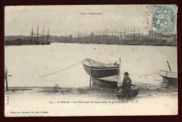 Cpa  Du 35  Saint Malo Le Port Avant Le Départ Pour La Grande Pêche   LAM16 - Saint Malo