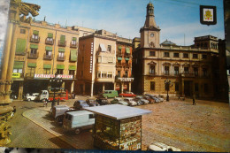 Reus Plaza España Kiosko Quiosque Voitures - Tarragona