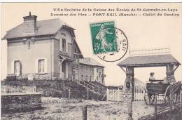 23362 Port Bail -caisse Ecoles Saint Germain En Laye -villa Scolaire Domaine Pins -chalet Gardien -ed Levêque - Attelage - France