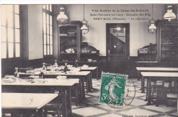 23363 Port Bail -caisse Ecoles Saint Germain En Laye -villa Scolaire Domaine Pins -refectoir -ed Levêque -