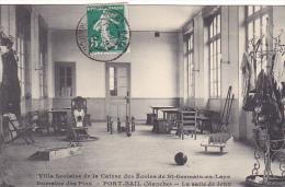 23366 Port Bail -caisse Ecoles Saint Germain En Laye -villa Scolaire Domaine Pins -salle Jeux -ed Levêque - Quilles