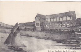 23367 Port Bail -caisse Ecoles Saint Germain En Laye -villa Scolaire Domaine Pins -bateau Voilier -ed Levêque - Dessin - France