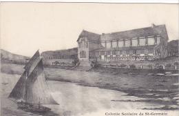 23367 Port Bail -caisse Ecoles Saint Germain En Laye -villa Scolaire Domaine Pins -bateau Voilier -ed Levêque - Dessin