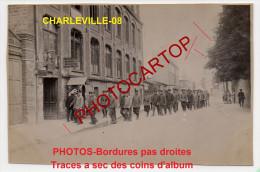 Atelier Automobile-Mecanos-Civils-Metier-Animation-CHARLEVILLE-3x Photos Allemandes-Guerre14-18-1WK-Militaria-France-08- - Charleville