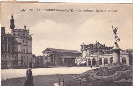 23379 Saint Germain En Laye -chateau Eglise Gare -252 Cap - St. Germain En Laye