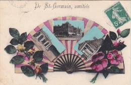23381 Saint Germain En Laye Amities -sans Ed --multivues -roses Eglantine - St. Germain En Laye