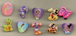LOT 10 Pin's DISNEY Donald, Mickey, Pluto, Les Princesses Disney - Disney