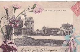 23386 Saint Germain En Laye -souvenir Chateau Eglise Gare -ed Baudiniere Nanterre - - St. Germain En Laye
