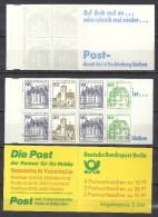 Deutschland Berlin Markenheftchen 1980 MH 11 G ** MNH (H-Blatt 19) Top Qualität Reklame: Furda - Post - Berlin (West)