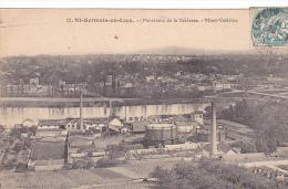 23390 Saint Germain En Laye  Panorama Terrase Mont Valerien -12 Abeille -usine Gaz ? - St. Germain En Laye