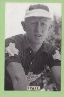 Ernest TRAXEL, Tigra Suisse. 2 Scans. Photo Miroir Sprint - Cyclisme