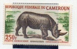 Sello Nº A-55 Cameroun - Rinocerontes