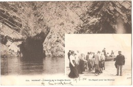 Dépt 29 - CROZON - MORGAT - L'Entrée De La Grande Grotte - Un Départ Pour Les Grottes - Crozon