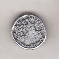 USSR Russia Old Pin Badge  - Cities - Novgorod Kremlin - Pokrovski Tower - Cities