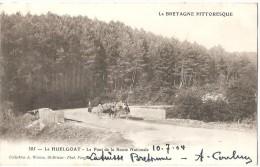 Dépt 29 - HUELGOAT - Le Pont De La Route Nationale - Huelgoat