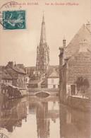 Cp , 76 , HARFLEUR , Vue Du Clocher - Le Havre