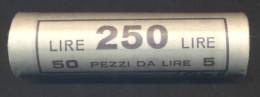 Lire 5 1971 - FDC/Unc Rotolino/roll 1 Rotolino Da 50 Monete/1 Roll 50 Coins - 5 Lire