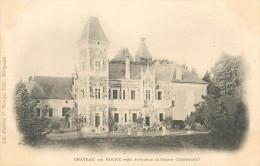 24  JUMILHAC LE GRAND  Château De HOCHE    2 Scans - Ohne Zuordnung