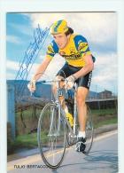 Tulio BERTACCO - Autographe Manuscrit - Dédicace - Equipe Cycliste SAMMONTANA - Saison 1981 - Cycling