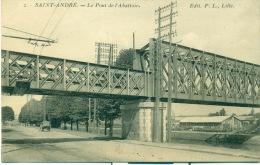 Saint-André. Le Pont De L´Abattoir - Autres Communes
