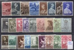 VATICANO 7 Serie 1964/65 MNH - Collezioni