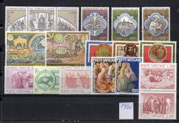 VATICANO 7 Serie 1974/76 MNH - Collezioni