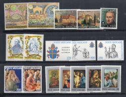 VATICANO 6 Serie  MNH - Collezioni