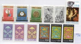 VATICANO 5 Serie  1976/78  MNH - Collezioni