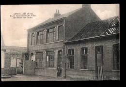 59 ANNOEULLIN (envs Seclin) Ecole Communale Des Filles, Boulevard Des Ecoles, Guerre 1914-18, Ed Courmont, 1912? - Non Classés